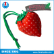 Fugang Foldable Eco Friendly Nylon Foldable Strawberry Type Bag With Drawstring