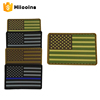 Wholesale Cheap 3D PVC Rubber Badge USA American Flag Patch