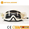 Most popular colorful printing straps adjustable strap logo custom motocross helmet eyewear transparent lens MX goggles HB-156