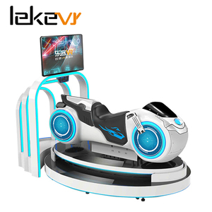 Leke VR Motorcycle simulator 2018 most popular virtual reality shopping mall 9d motion vr ride
