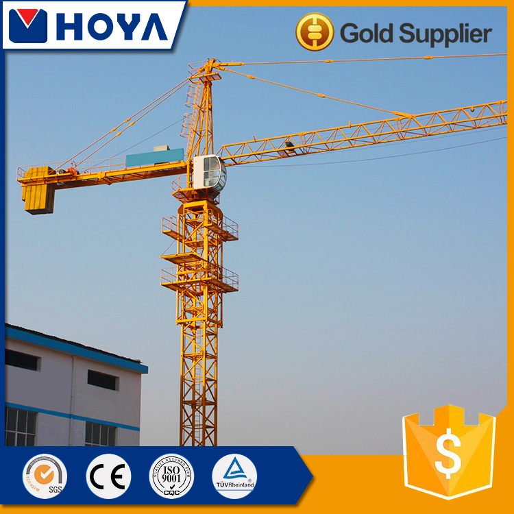 QTZ80 tower crane workshop equipment tower crane spare parts