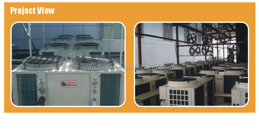 DIBETTER Stainless steel case Swimming Pool Heat Pump,DBT-20SP with Titanium Heat Exchanger