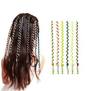 Women Girl 12pcs Hair Styling Twister Clip Braider Tool DIY Accessories