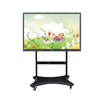 65 Inch LCD high definition Multi-touch Interactive Whiteboard touch screen monitor for Classroom