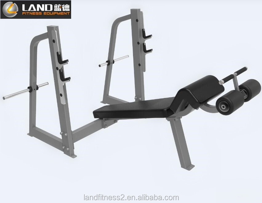 shandong fitness equipment machines gym sports fitness weight bench/Decline Press