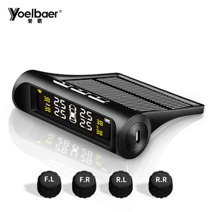 Yoelbaer Tire Pressure Monitoring System TPMS Rest Tool Solar Power TPMS