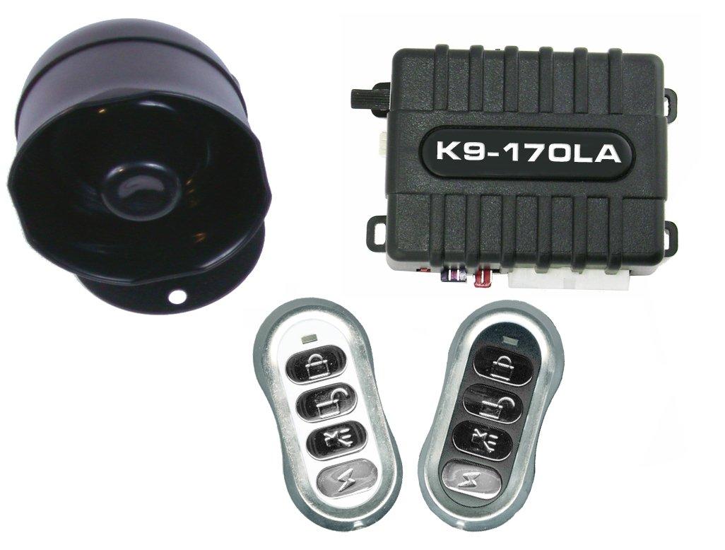 K9 K9170LA Keyless Entry and Car Alarm Security System