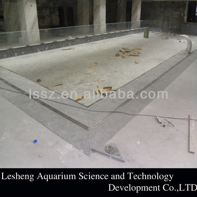 acrylic sheet for swimming pool with CE