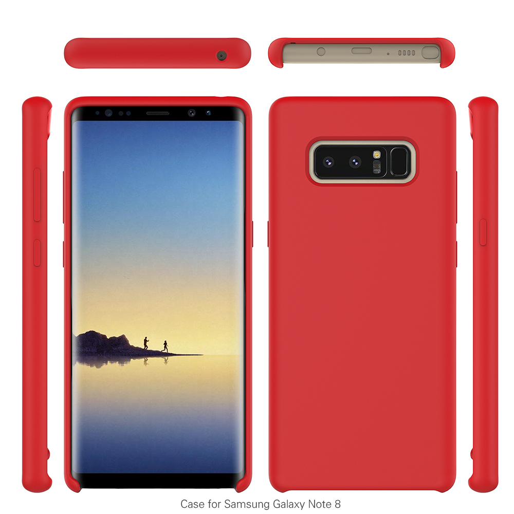 big sale 0b78e 9c061 For Samsung Galaxy Note 8 Original Case,Soft Touch Silicone Rubber Cell  Phone Case For Samsung Galaxy Note 8 - Buy Phone Case For Samsung Galaxy  Note ...