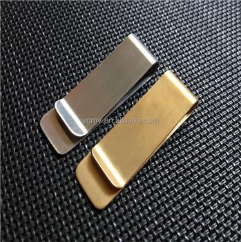 Stainless steel fashion money clip golden silver 2 colors business stainless steel fashion money clip golden silver 2 colors business card credit card holder cash wallet colourmoves