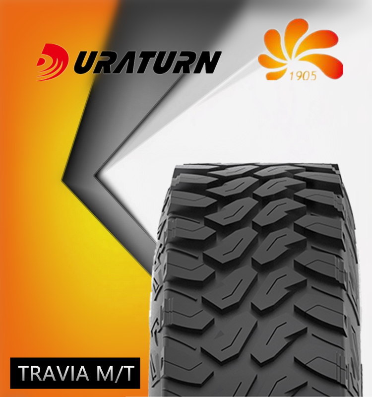 33*12.5R18 MT mud tire Outline White Letters tyres Duraturn tire