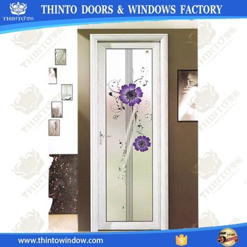 Wholesale European Style Designer Aluminium Bathroom Doors On Sale