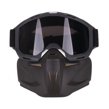 Hot Sale MMotocross Motorcycle Mask Windproof and Rainproof Motorbike Helmets Goggles
