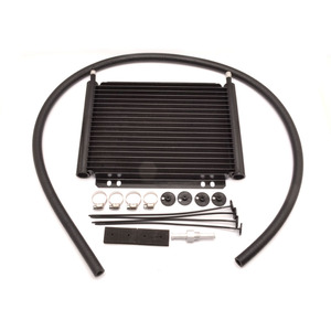 Black 19 Row Aluminum Engine/Transmission Racing Oil Cooler for Car engines parts