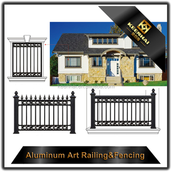 solid metal fence. Aluminum Solid Metal Fence Panel For Garden Security With High Quality