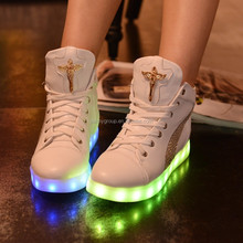 2016 New LED Luminous Adults Shoes, High Quality Sneaker LED shoes, LED Casual Shoes