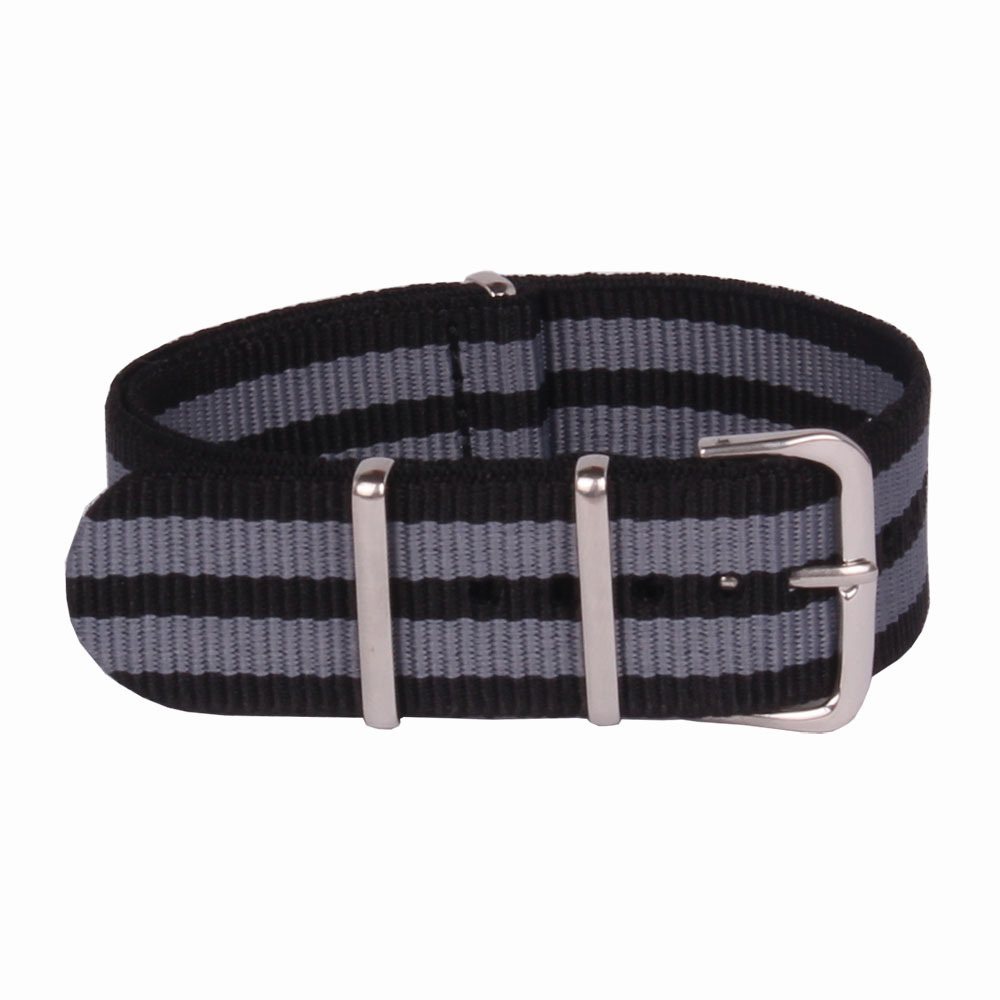 1PCS High quality 22MM Nylon Watch band NATO waterproof watch strap fashion wach band Ring buckle watchbands 22 mm