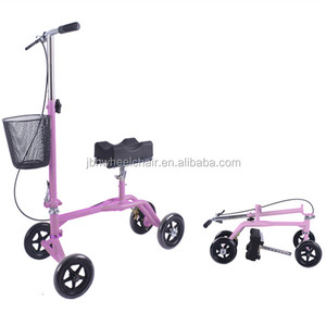 Mini hanicapped scooter knee walker