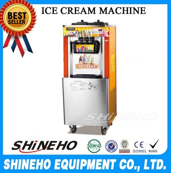 Commercial Cheap Price Intelligent Soft Ice Cream Machine