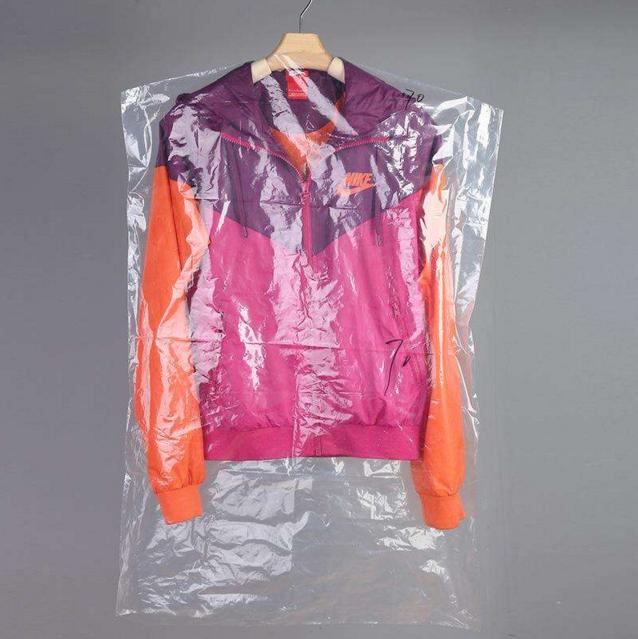 Disposable Garment bag plastic suit bag clothing dust cover storage bag