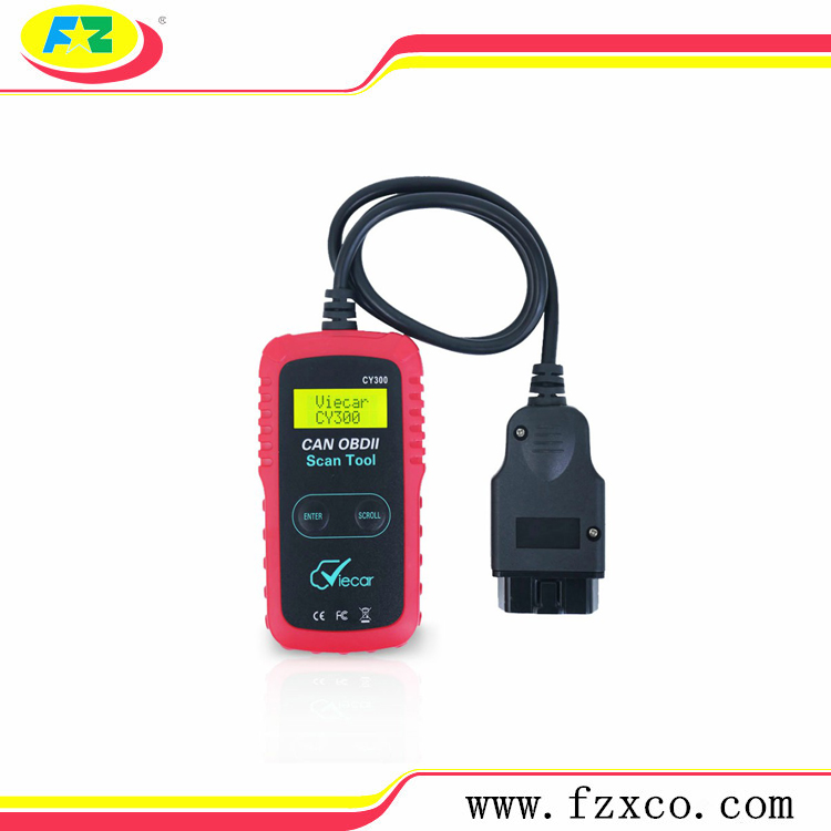 ELM327 OBD2 Scanner VC300 OBD2 Interfaccia Diagnostica Strumento di Supporto Protocollo SAE J1850 CY-300 OBDII