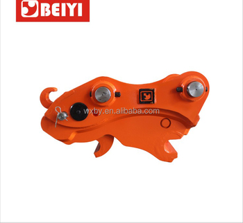 Beiyi hydraulic parts for mini excavator quick coupler