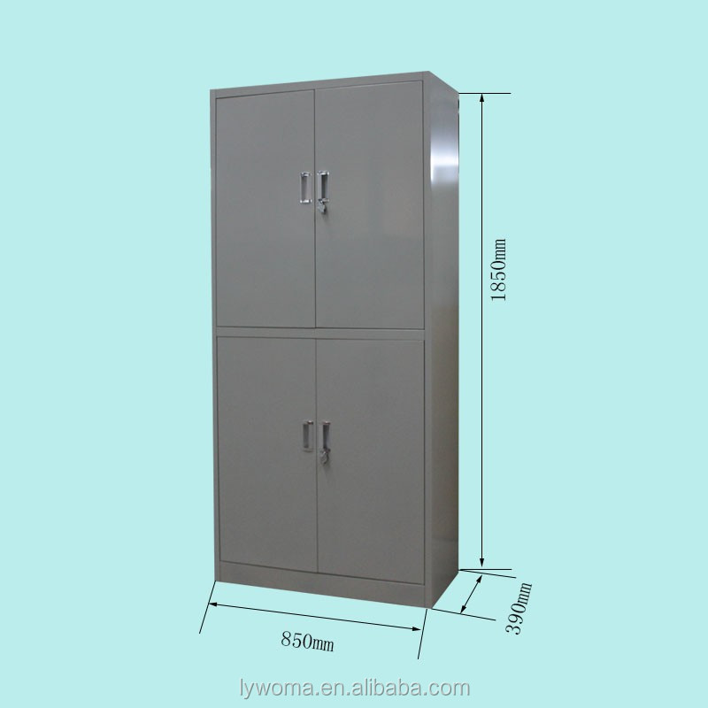 Simple design 4 compartment godrej cupboard models with for Cabinet door sample bags
