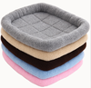 Soft Padded Fleece Pet Bed by Cushy Bed All Season Crate Pad for Your Pet Comfort Double Fleece Filling Easy Clean