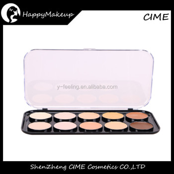 Pro 10 Colors Makeup Concealer palette