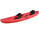 New design three person sit-on-top fishing kayak