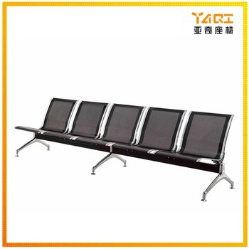 Marvelous Yaqi Furniture Public Waiting Bench Hospital Airport Used Black Color No Arm 5 Seater Metal Gang Chair Ya 23 Buy Gang Chair Metal Gang Caraccident5 Cool Chair Designs And Ideas Caraccident5Info