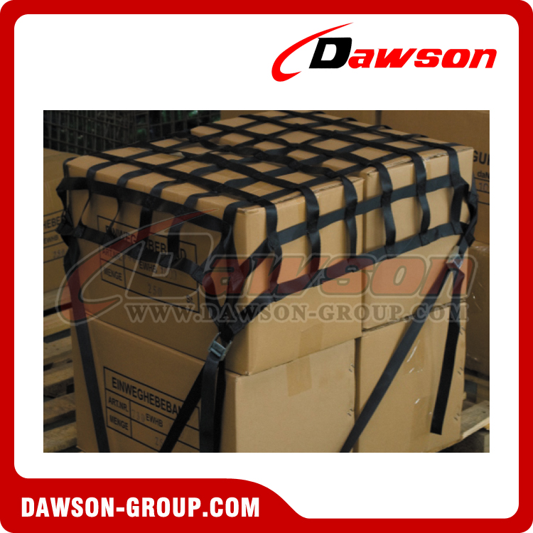 dawson Wear resisting webbing belt cargo container safety net