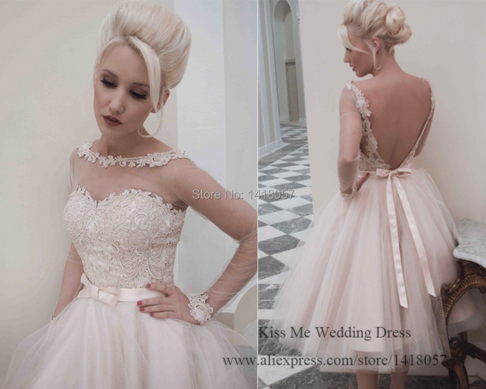 Pale Pink Wedding Gown Ficts