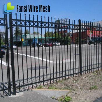 Iron Fence For Garden / Wrought Iron Garden Wall Fence / Garden Fence Prices