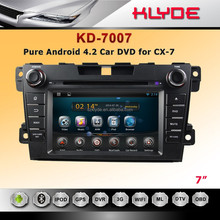 Best sell android 2din car radio player for CX-7 with turkish language