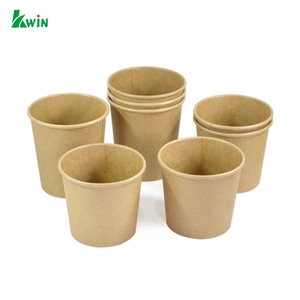 Sample Eco Friendly Biodegradable Print Disposable Compostable Paper Baking Foam Cup With Logo