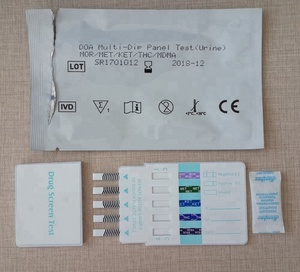 wholesale drug test with 10 panels doa rapid urine test strips in low price