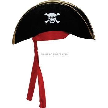 Pirata patrones sombrero para mujer para hombre adulto Caribe sombreros  fiesta de disfraces sombrero HT20259 70a6f30d9ff