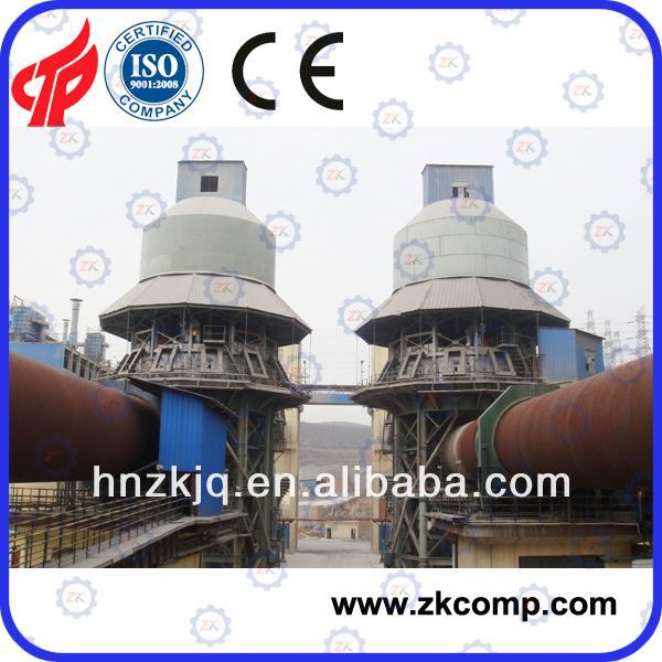 Rotary Kiln for lime for Egypt customer plant made in China