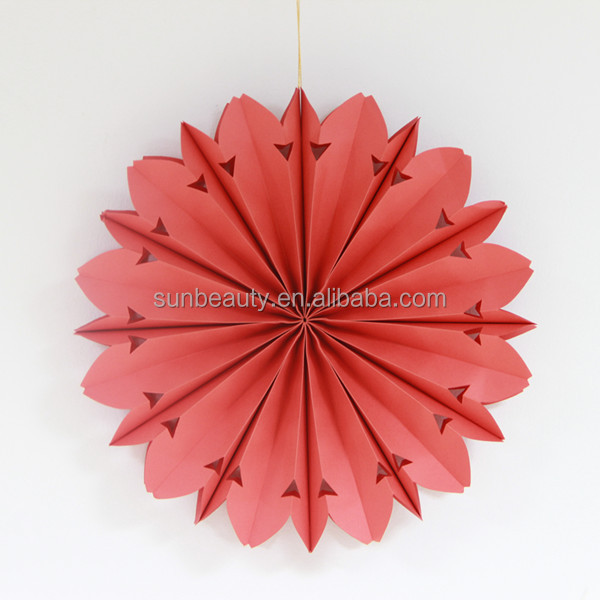 Ceiling Hanging Paper Fan,Wedding Decoration Supplies In China ...