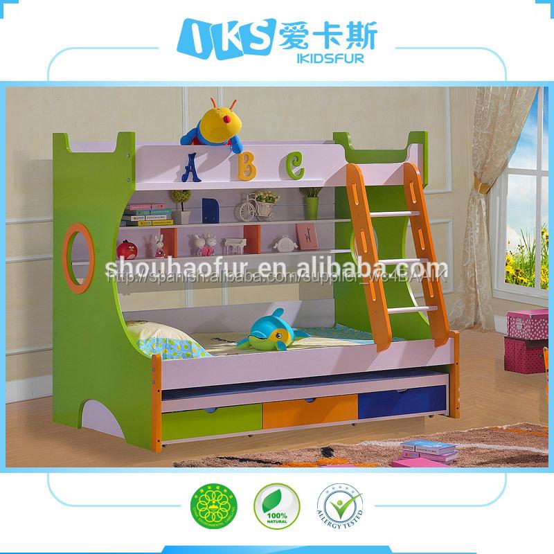 nios coloridos muebles baratos bunk beds