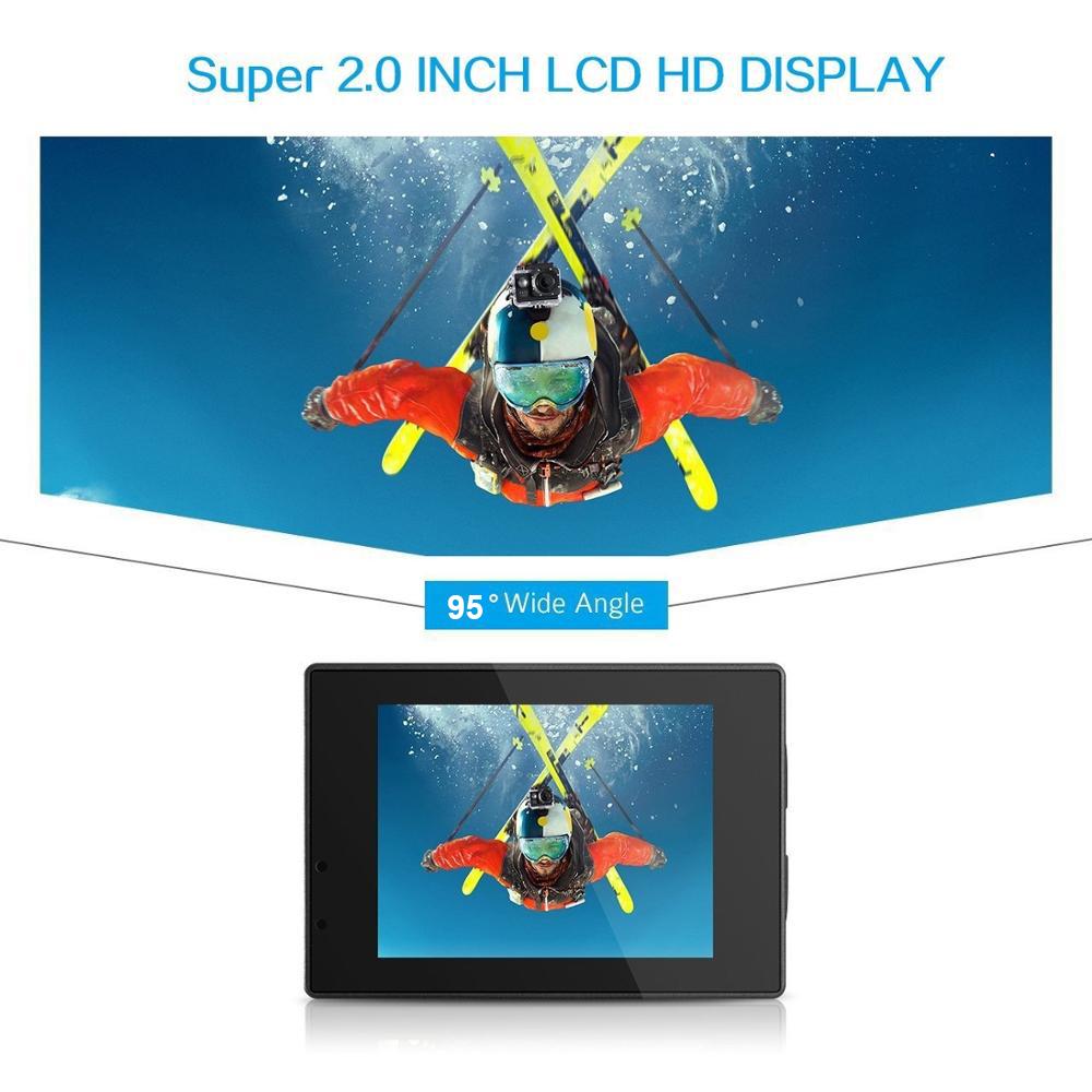 Factory best cheap underwater digital camera, sport micro wireless video camera, portable hd 720p action camera