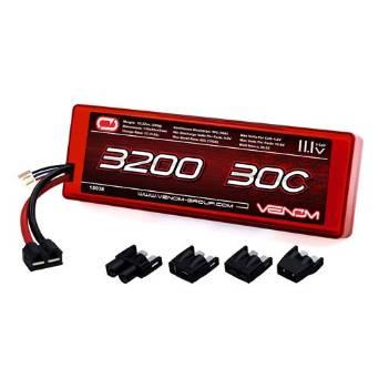 Venom 30C 3S 3200mAh 11.1V Hard Case LiPo Battery ROAR Approved with Universal Plug (EC3/Deans/Traxxas/Tamiya)