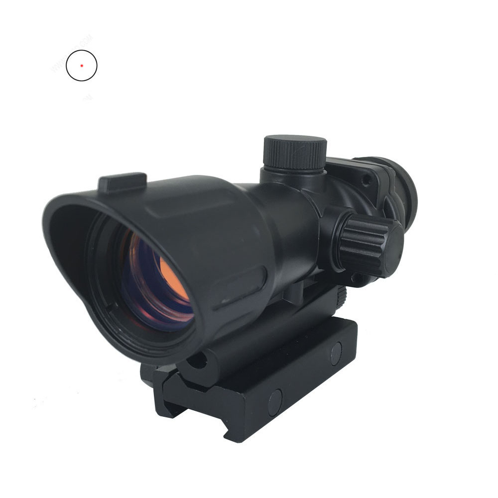 1x32 ACOG red dot sight hunting scope for airsof gun