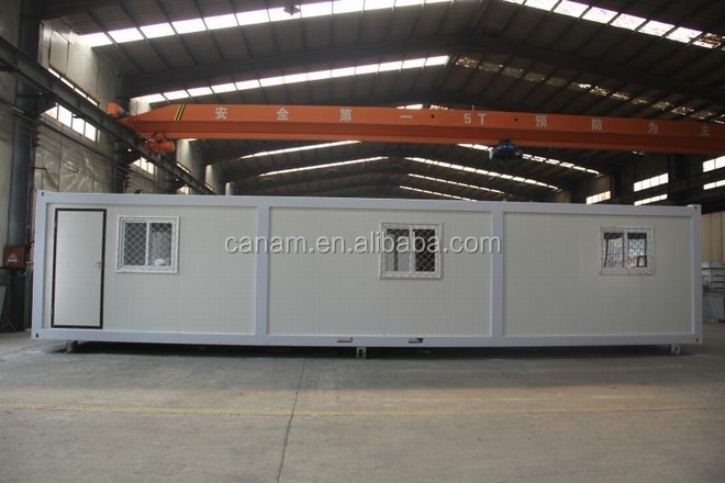 High class prefabricated movable contianer house for living room