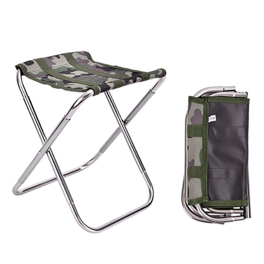 GUO XINFEN Camping Fishing Folding Chair - Outdoor Portable Folding Stool Ultra Light Stool
