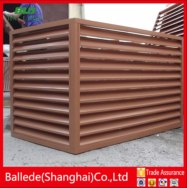 aluminum exterior air conditioner protector louver - Air Conditioner Covers