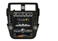 Best 12.1'' vertical screen android car dvd player gps navigation for Toyota Prado 2014-2016 support CANBUS air condition