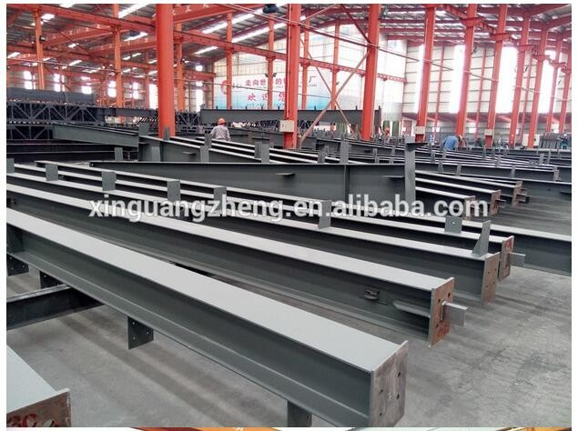 Large scale demountable prefabricated steel structure workshop without crane