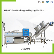 HP-220 + DM-15 Apple Pear Peach Kiwi Tomato Mango Fruits Washing & Drying Machine
